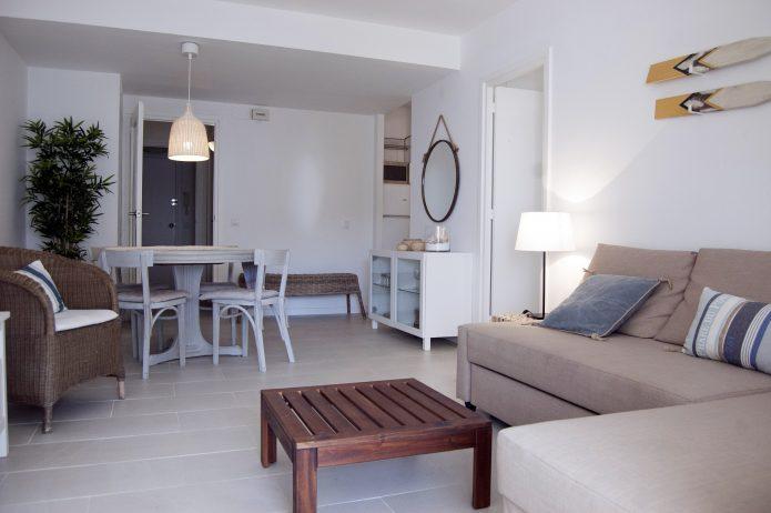 Interiorismo. Apartamento en la playa