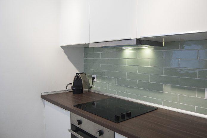 Interiorismo. Cocina apartamento