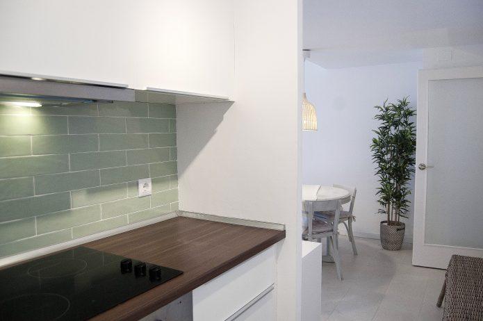 Interiorismo, apartamento en playa
