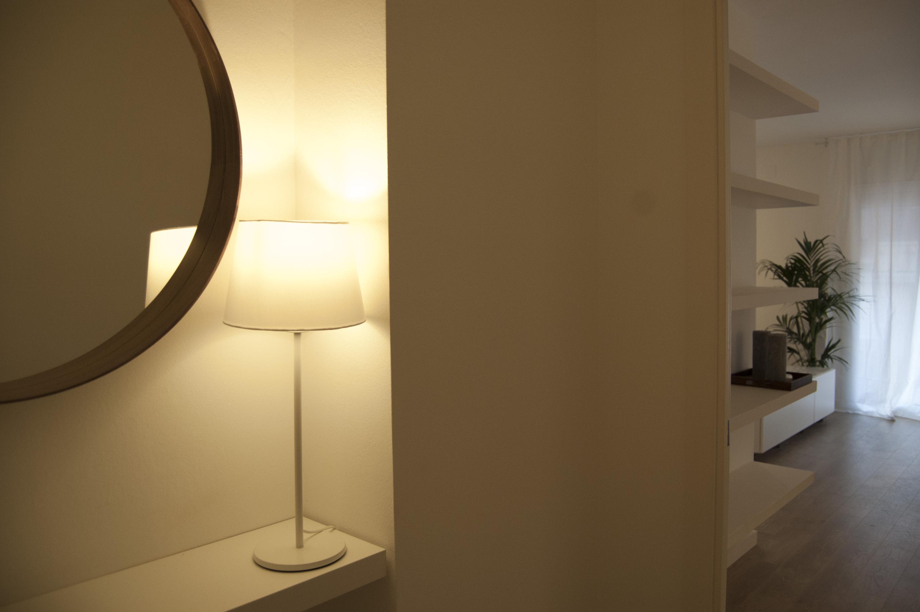 Trazo interiorismo piso 85m2 for Interiorismo low cost