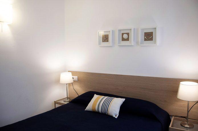 Interiorismo. Dormitorio de playa