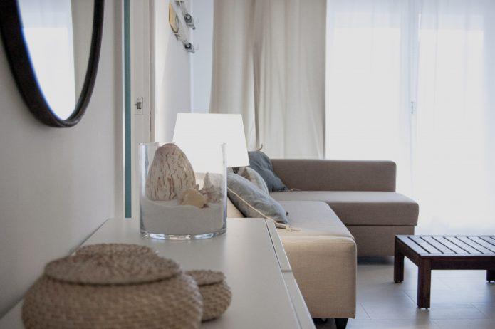 Decoración apartamento en la playa