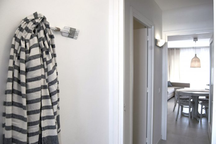 Interiorismo apartamento entrada