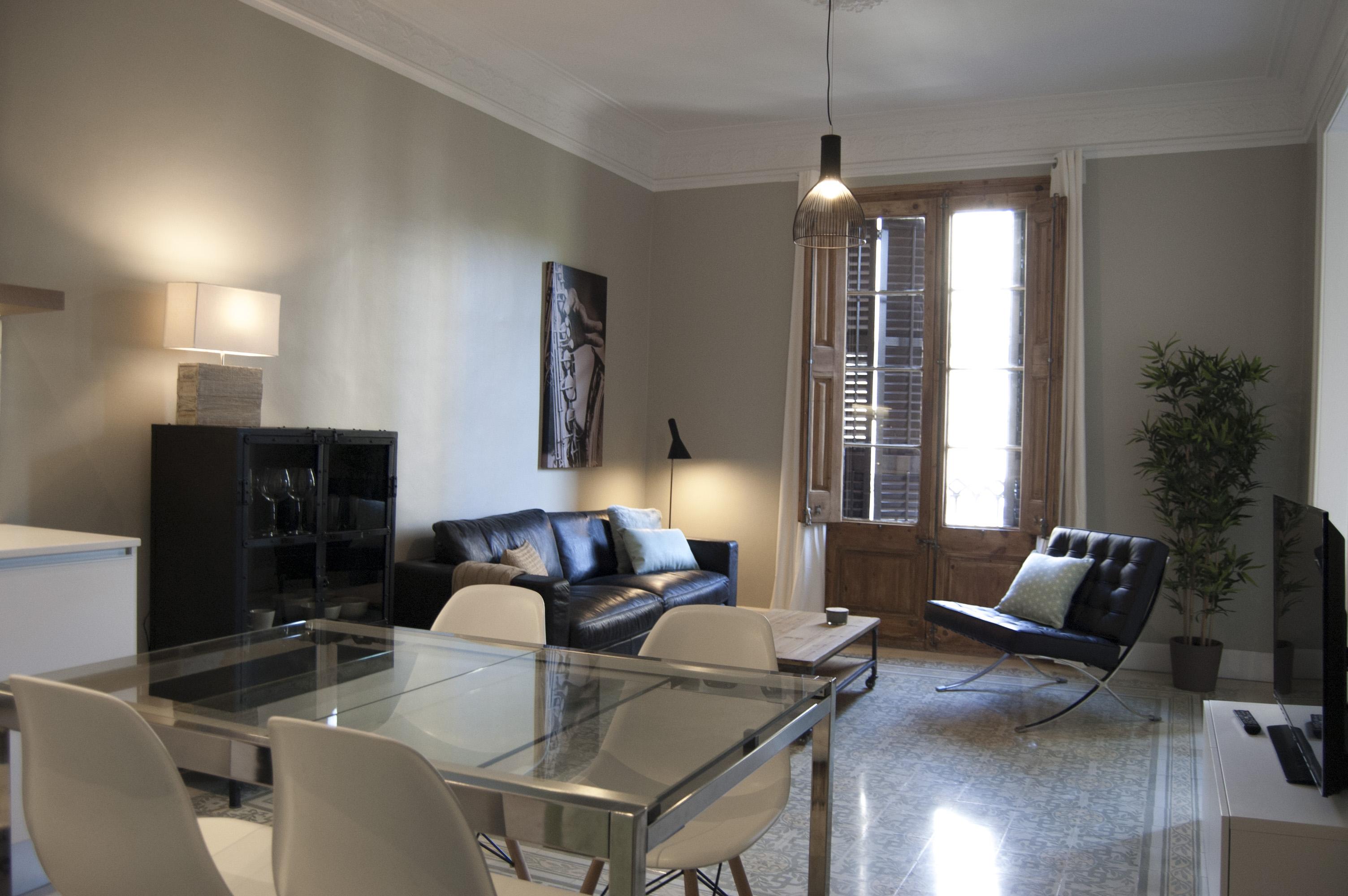 Trazo interiorismo apartamento tur stico 60m - Interiorismo low cost ...