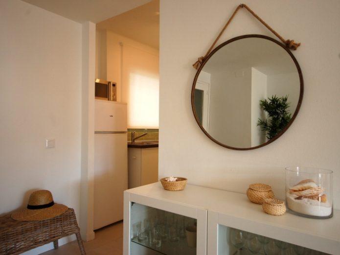 Interiorismo apartamento en la playa
